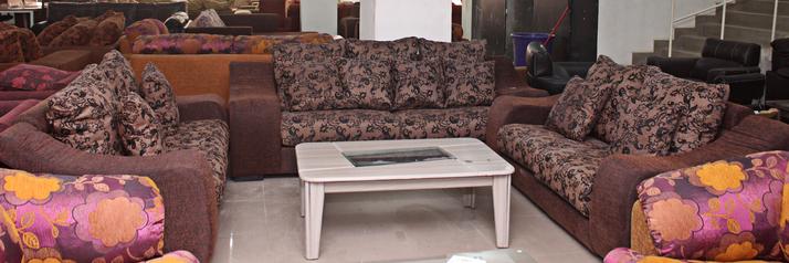 buy Fabric Alto 7 Seater Sofa Set