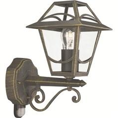 buy BABYLON Wall Lantern BlackBrush - 15420/42/10