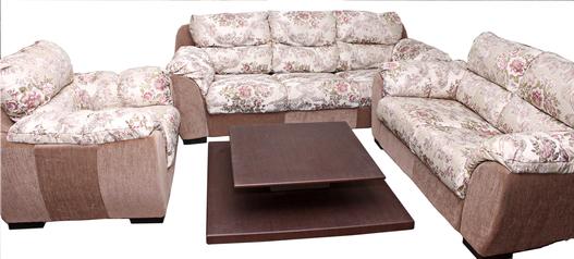 buy Fabric Toro 6 Seater Sofa Set