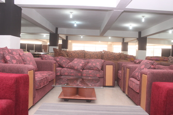 buy Fabric Queen Luxurious 7 Seater Sofa Set