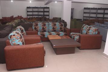buy Alto 7 Seater Fringes Sofa Set