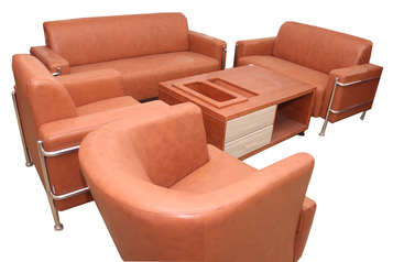 buy Leather Office Board 6 Seater