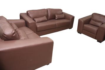 buy Armani 7 Seater Leather Sofa Set